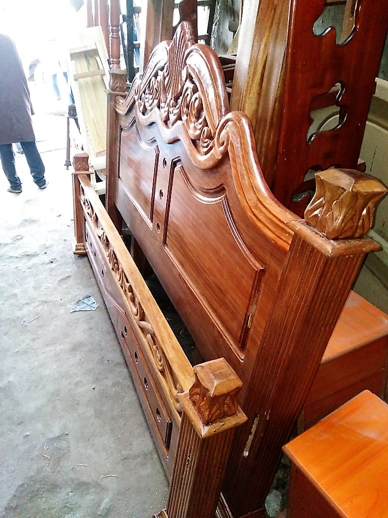 Mahogany Solid Beds-Various Sizes